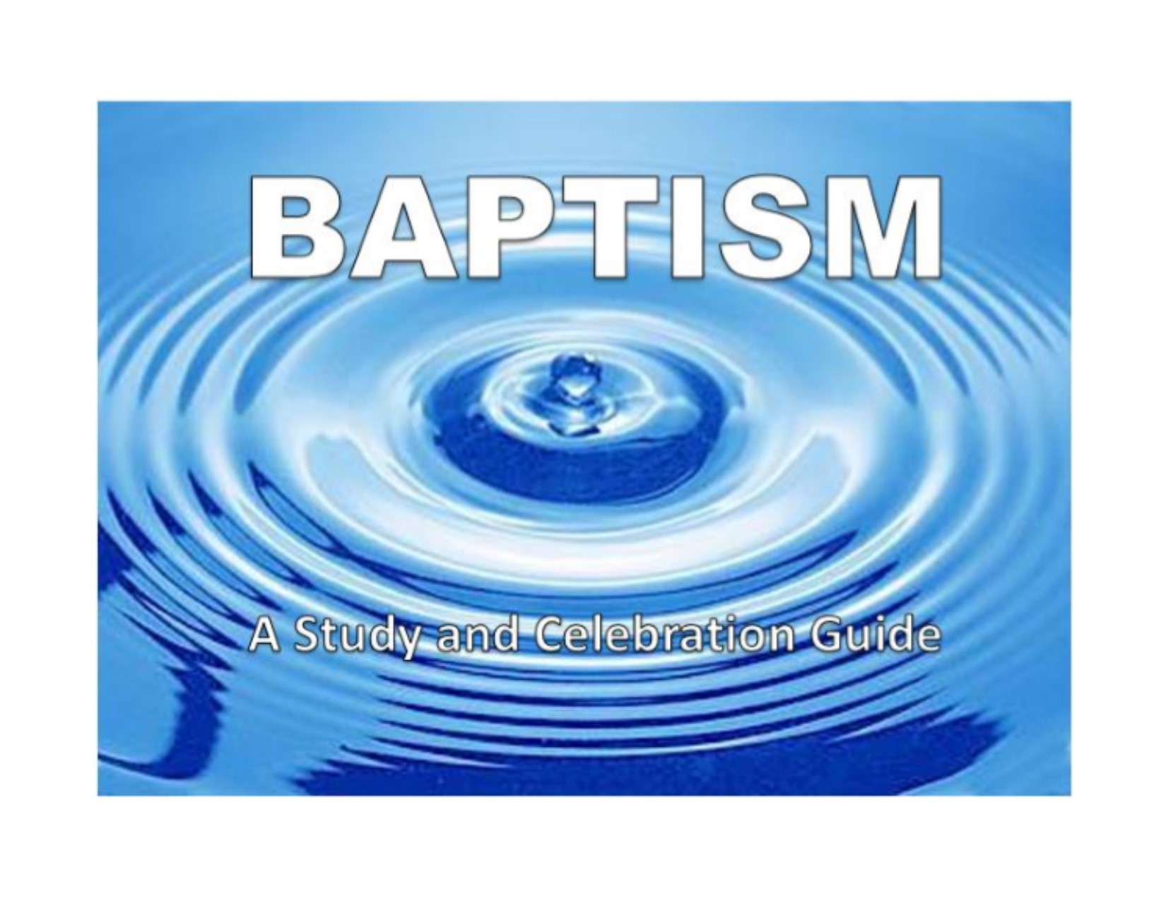 Family Baptism Guide